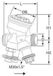 Клапаны балансировочные TA-COMPACT-P (IMI Hydronic Engineering)
