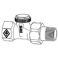 Радиаторный запорно-регулирующий клапан тип Regutec. Проходная модель