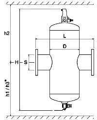 Zeparo ZIK - Модель Kombi для микропузырьков и частиц шлама