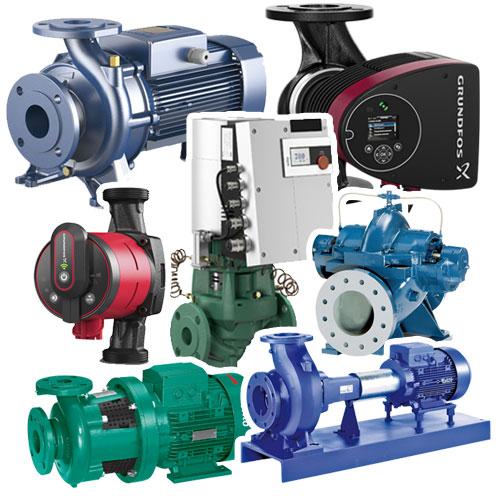 Насосы для циркуляции в системах отопления, водоснабжения и кондиционирования