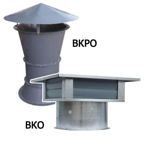 Вентиляторы крышные осевые