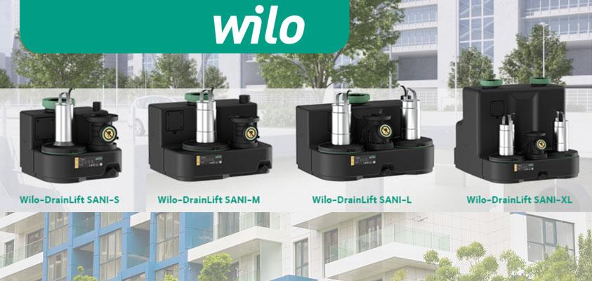 Установки отвода стоков из зданий Wilo-DrainLift SANI